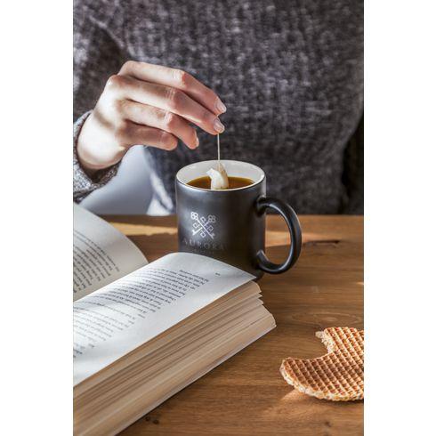 Promotional Mug Longa · Matt Black · 350 ml
