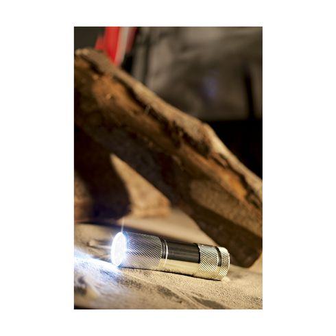 Pocket flashlight with LED lights