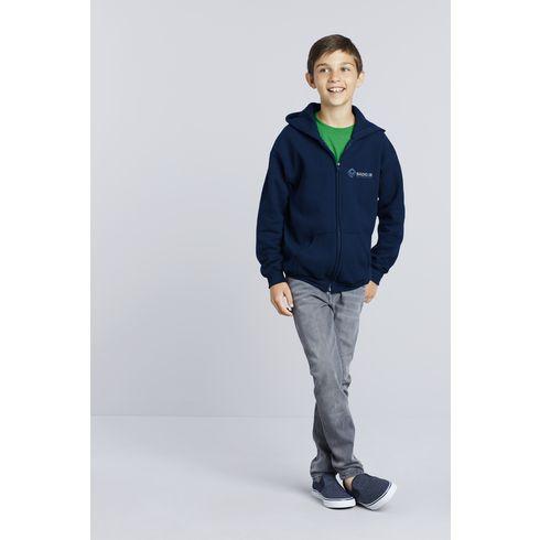 Gildan Heavyblend Hooded Full-Zip Sweater Kids