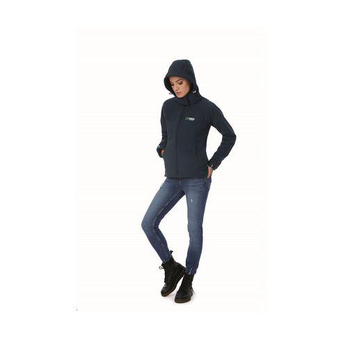 B&C Hooded SoftShell Jacket ladies