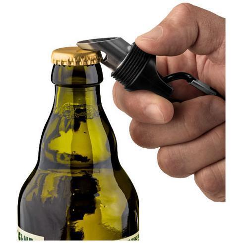 Omega 6-LED torch light and bottle opener