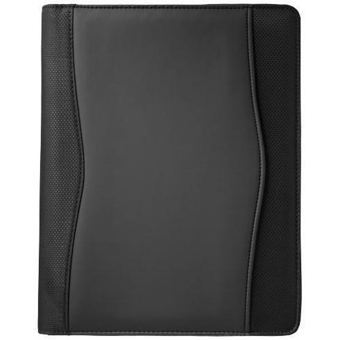 Wave A4 zippered portfolio