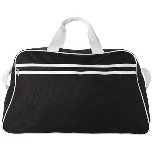 San Jose 2-stripe sports duffel bag
