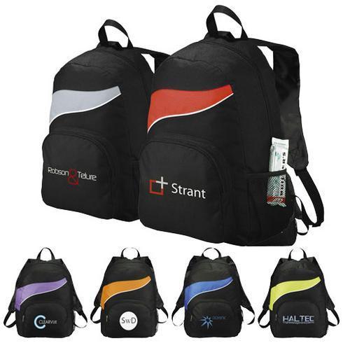 Tornado zippered front pocket backpack