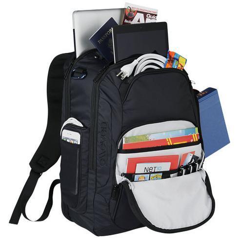 "Rutter 17"" laptop backpack"