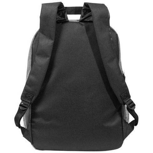 "Hoss 15.6"" heathered laptop backpack"
