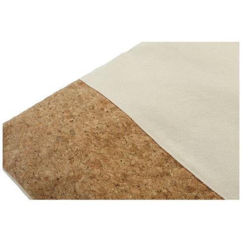 Cory 175 g/m² cotton and cork tote bag
