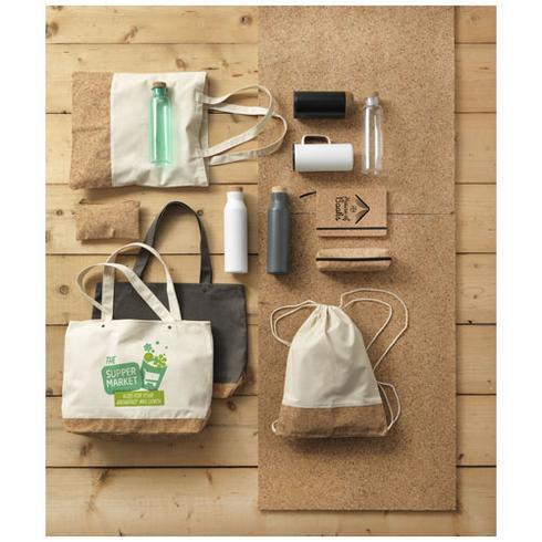 Napa 406 g/m² cotton and cork tote bag