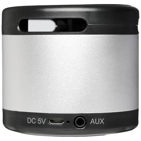 Jones metal Bluetooth® speaker with wireless charging pad